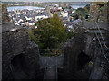 SH7777 : Inside Tower 13, Conwy town walls by Phil Champion
