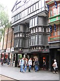SX9292 : Contrasting architectural styles, Exeter by Derek Voller