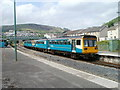 ST0291 : Arriva Trains Wales service for Cardiff at Porth by Jaggery