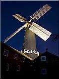 TA0233 : Skidby Mill by night by Paul Harrop