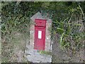 SX3167 : Victorian letter box by Eric Foster