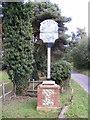 TM3747 : Boyton Village sign by Geographer