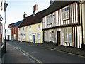 TG1101 : Cottages along Bridewell Street, Wymondham by Evelyn Simak