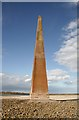 NU1340 : West Old Law Beacon by Walter Baxter