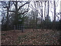 TQ2293 : Footpath entrance on Highwood Hill by David Howard