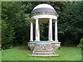 TQ0651 : The Temple at Hatchlands Park by David Hillas