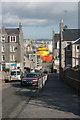 NJ9505 : Looking down Mansfield Road, Torry by Bill Harrison