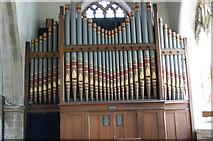 TQ8833 : Organ in Tenterden Church by Julian P Guffogg