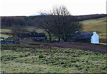 NM5653 : Mungosdail Farm by Peter Bond