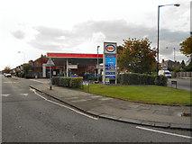 SJ7894 : Esso Service Station, Sevenways by David Dixon