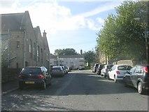 SE1437 : John Street - looking towards Saltaire Road by Betty Longbottom