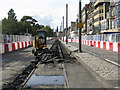 NT2573 : Princes Street road repairs by M J Richardson