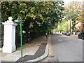 TQ3674 : Green Chain Walk on Brockley Way by David Anstiss