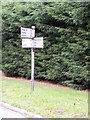 TM3446 : Roadsign at Melton Road junction by Adrian Cable