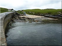 NA9812 : Slipway from the pier, Port a' Tuath by Rob Farrow