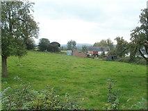 ST3196 : Croeswen Farm buildings east of Croesyceiliog by Jaggery