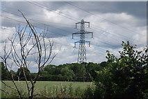 TQ5784 : Pylon by Ockendon Rd by N Chadwick