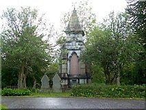 NS2676 : Memorial to Robert Wallace by Lairich Rig