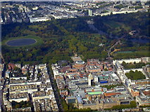 TQ2679 : Kensington museums from the air by Thomas Nugent