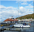 NS0864 : Rothesay Harbour by Anne Burgess