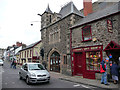 SH7877 : Conwy Gift Shop and the Civic Hall / Library, Castle Street, Conwy by Phil Champion