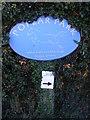 TM3545 : Polar Park sign by Adrian Cable