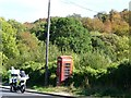 SE2409 : Checking for speeding at Kithchenroyd phone box by Christine Johnstone