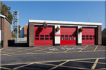 SU3521 : Fire Station, Alma Road by Peter Facey