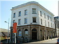 SO1609 : Former Armoury Hill bank building converted to flats, Ebbw Vale by Jaggery