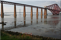 NT1378 : The Forth Bridges by Anne Burgess