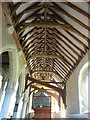 TQ9947 : South aisle of St. Mary's Church, Westwell by pam fray