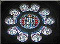 SE7388 : Rose window, Christ Church by Pauline E