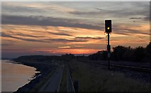 TA0025 : Sunset near North Ferriby by Paul Harrop