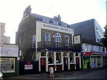TQ5474 : The Stage Door Public House, Hythe Street, Dartford by PAUL FARMER