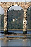 NT9953 : The River Tweed at Berwick by Walter Baxter