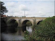 SE4843 : Bridge  over  River  Wharfe  Tadcaster by Martin Dawes