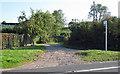 TL3803 : Pucks Lane entrance, leading to Aimes Green or Monkhams Hill by Roger Jones