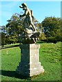 ST7475 : Statue of Neptune, Dyrham Park by Brian Robert Marshall