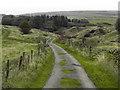SD7517 : Track Towards Barons Farm by David Dixon