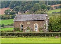 SO1821 : Zoar Baptist Chapel, Tretower by Philip Pankhurst