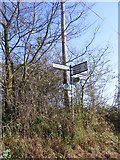 TM2743 : Roadsign on Mill Road by Geographer