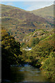 SH5947 : Afon Glaslyn, Beddgelert, Gwynedd by Peter Trimming