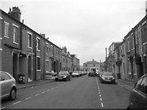 SE1431 : Derby Street - looking towards Great Horton Road by Betty Longbottom