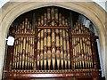 SU1869 : Organ pipes, St Mary's Church, Marlborough by Brian Robert Marshall