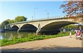 TQ1774 : Twickenham Bridge by Mike Smith