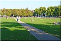 TQ1774 : Richmond Green by Mike Smith