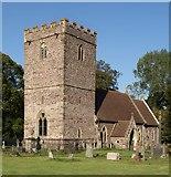 SO0725 : Church of St Brynach, Llanfrynach by Derek Harper