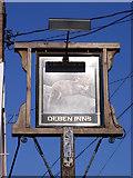 TM2743 : The Fox Inn Public House sign by Geographer