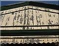 SX8671 : Peeling paint, Newton Abbot station by Derek Harper