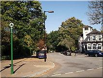 TQ3472 : Green Chain Walk on Crescent Wood Road by David Anstiss